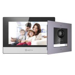 SF-VIK001-F-IP - Kit de Portier vidéo, Technologie IP, Comprend Plaque…