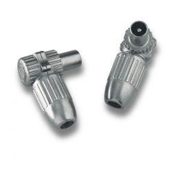 Alcad MC-000 Iec male connector coax ø6.5 7.2 mm