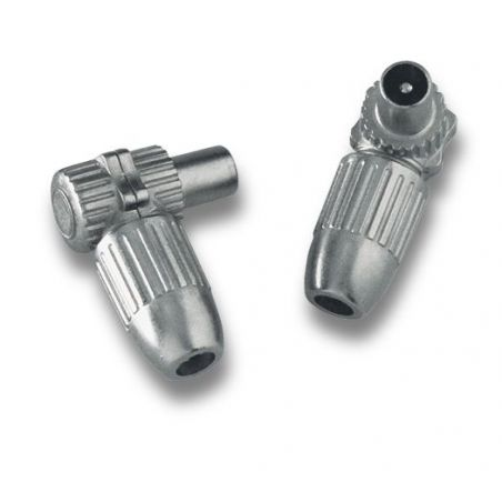 Alcad MC-000 Conector  iec macho coax 6,5 7,2 mm