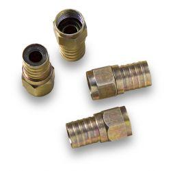 Alcad MC-104 Male f connector to crimp on rg-6 coax.