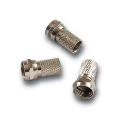 Alcad CM-004 Conector f macho  coax. 6,5 6,8 mm