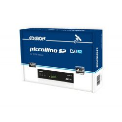 EDISION Piccollino S2 Receptor de satélite H.265/HEVC