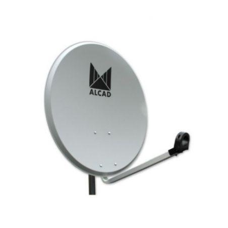 Alcad PF-224 Satellite dish 65 cm steel with lnb (x5)