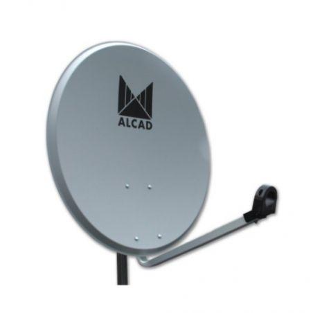 Alcad PF-423 Satellite dish 80 cm steel with lnb (x1)