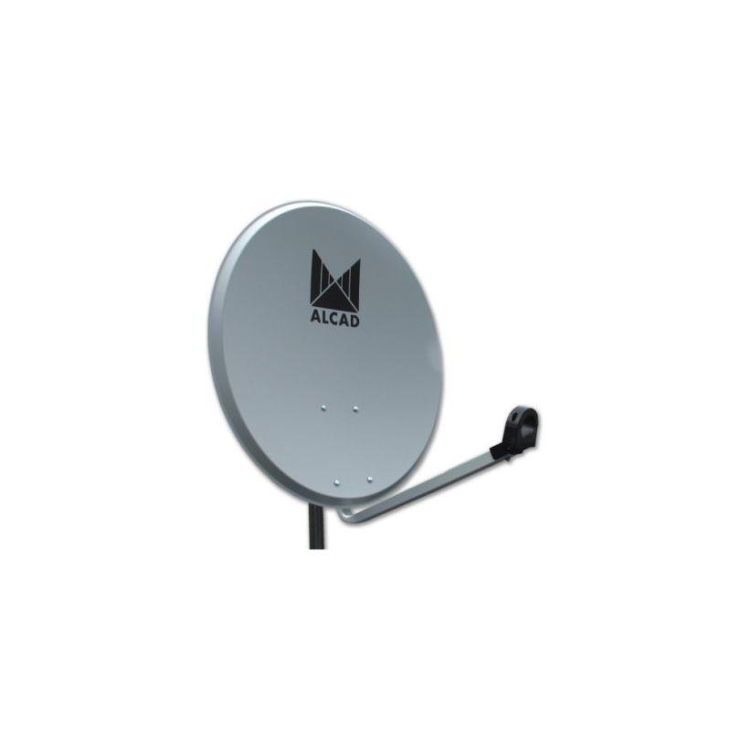 Alcad PF-424 Satellite dish 80 cm steel with lnb (x5)