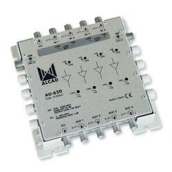 Alcad AU-620 Amplificador multiswitch 4 pol