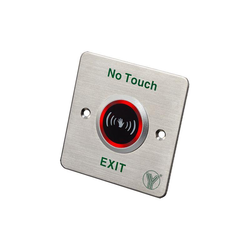 ISK-841C - Boton de salida sin contacto, Sensor infrarrojo con…