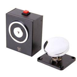 YD-604 - Retenedor electromágnetico, Para puerta sencilla,…
