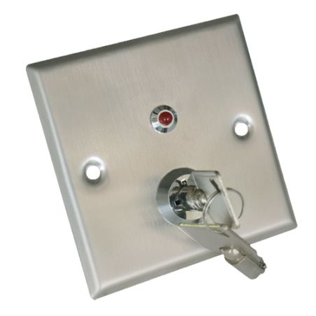 YKS-850LS - Push button with key, NO/NC/COM/TAMP/LED, Tested…