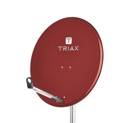 Triax TDS 65A Antenne parabolique en acier galvanisé de 65cm