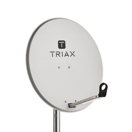Triax TDS 65A Antena parabólica em aço galvanizado 65cm Cinza claro