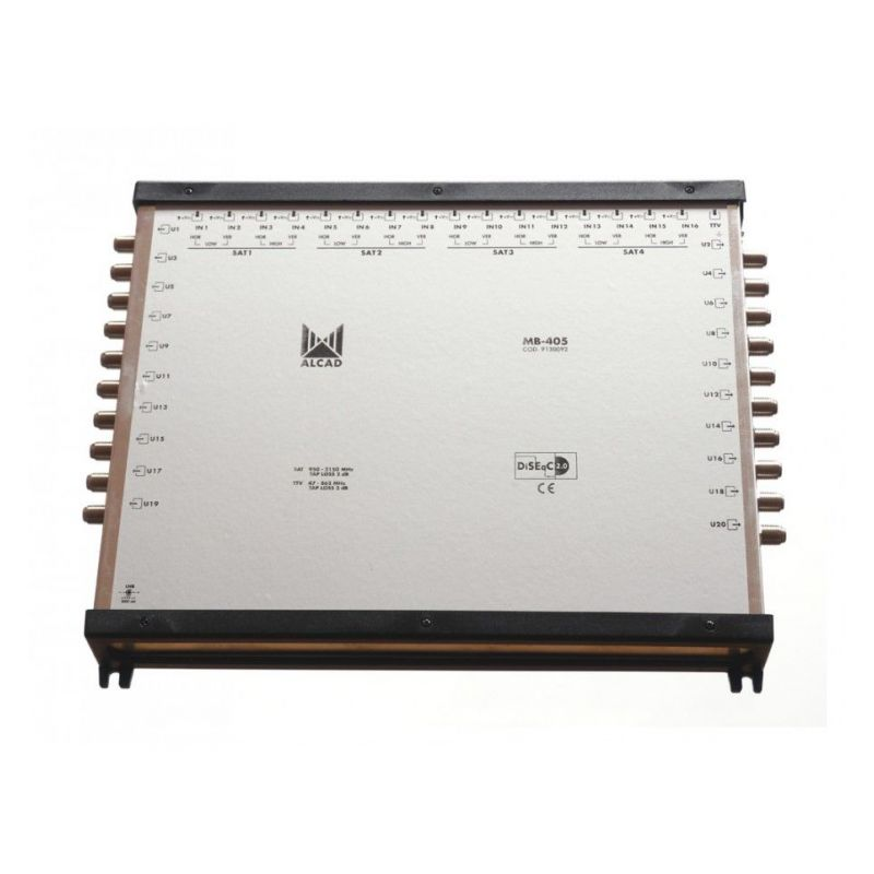 Alcad MB-405 17x20 final multiswitch, EU psu