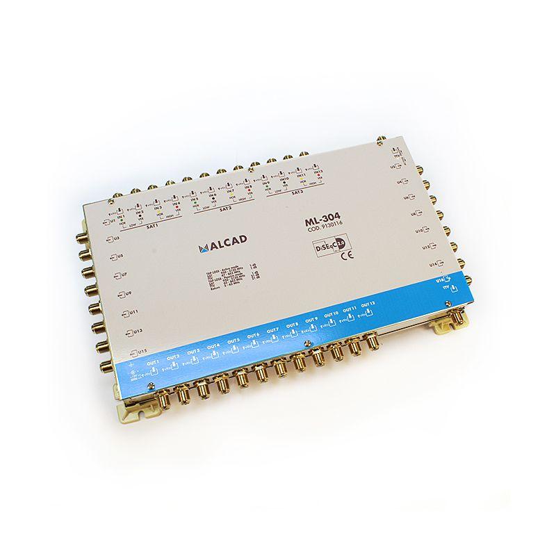 Alcad ML-304 Multiconmutador cascadable 13x16