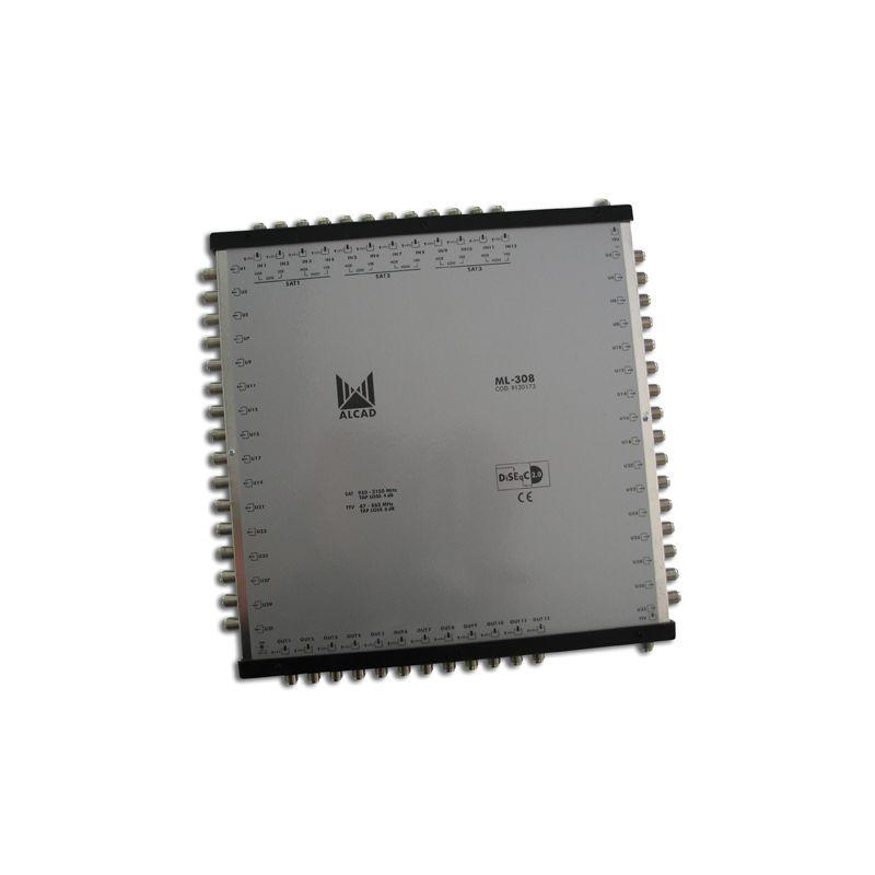 Alcad ML-308 Multiconmutador cascadable 13x32