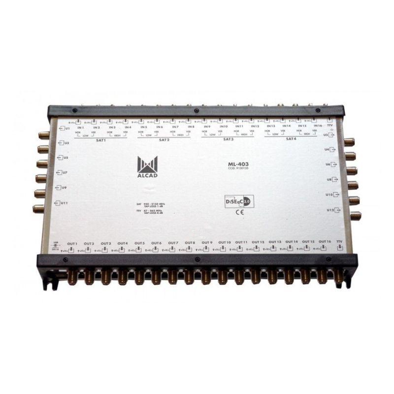 Alcad ML-403 Multiconmutador cascadable 17x12