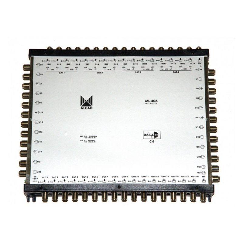 Alcad ML-406 Multiconmutador cascadable 17x24