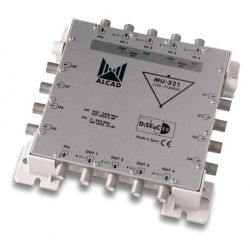 Alcad MU-321 Cascadable multiswitch, 5x8 actif