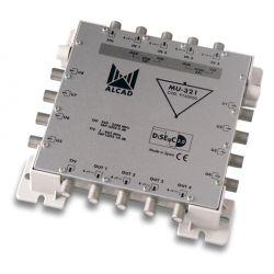 Alcad MU-321 Cascadable multiswitch, 5x8 actif