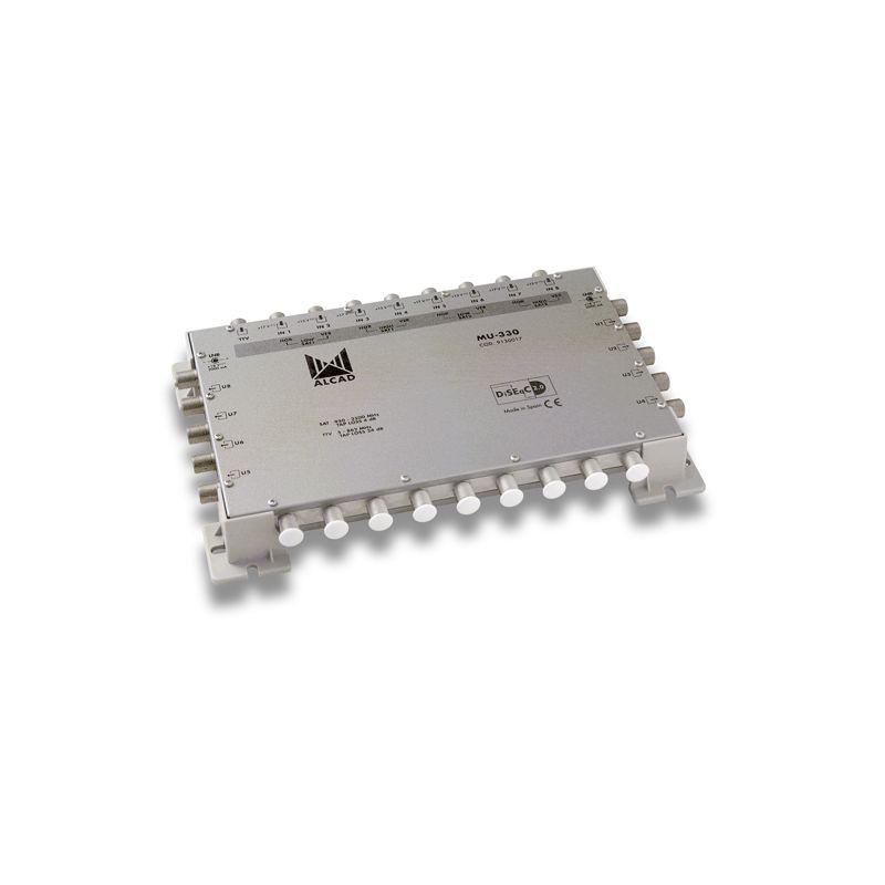 Alcad MU-330 Multiconmutador final 9x8