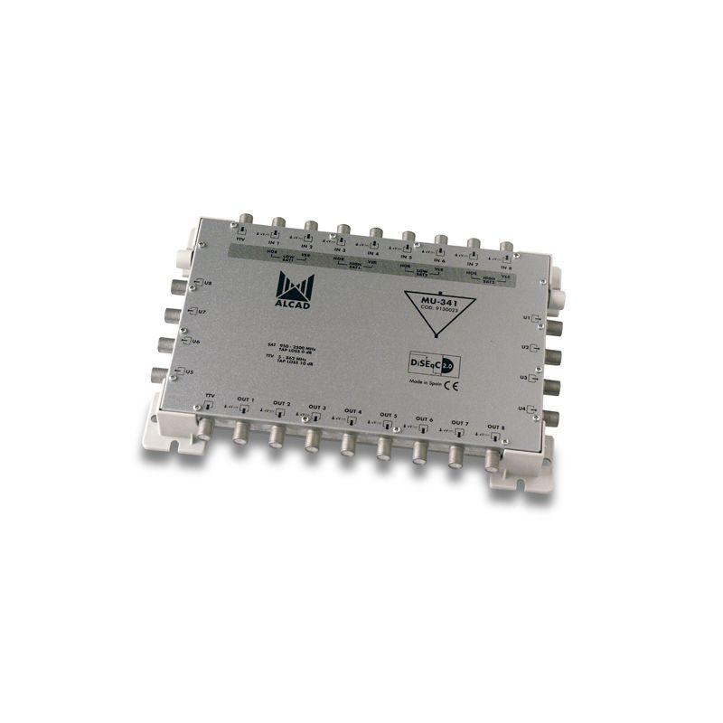 Alcad MU-341 Multiconmutador cascadable activo 9x8