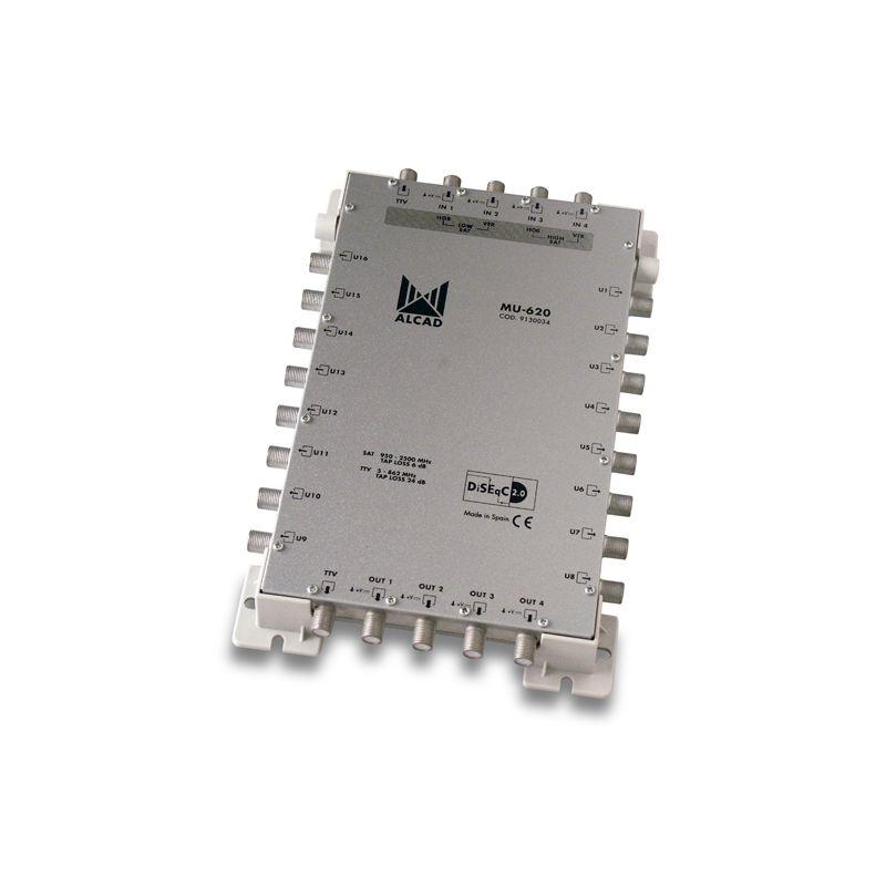Alcad MU-620 Multiconmutador cascadable 5x16