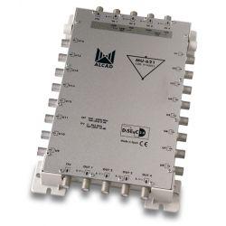 Alcad MU-621 Cascadable multiswitch, 5x16 actif