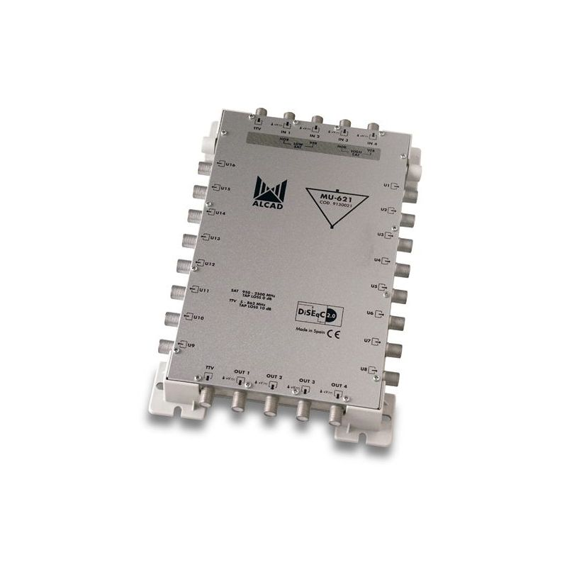 Alcad MU-621 Multiconmutador cascadable actvo 5x16