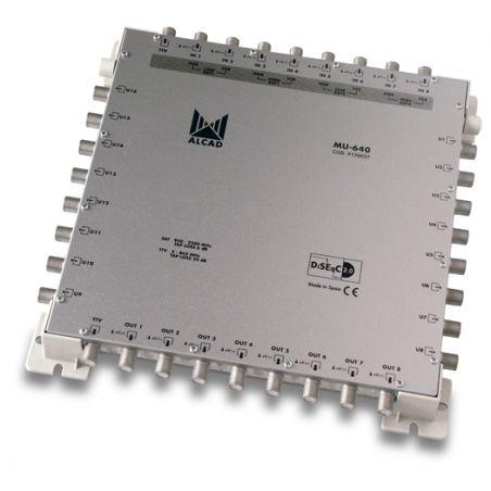 Alcad MU-640 Multiconmutador cascadable 9x16