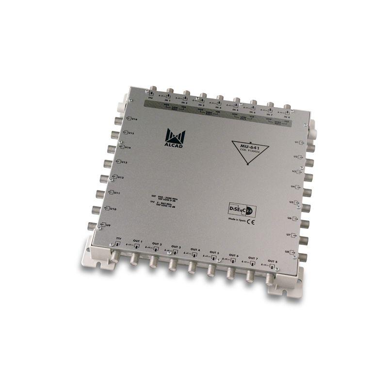 Alcad MU-641 Multiconmutador cascadable activo 9x16