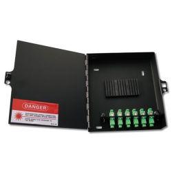 Alcad OWB-001 Wallbox 4 ports sc/apc single simplex