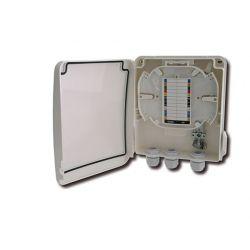Alcad OWB-008 Optical distribution box for 12 f.o.