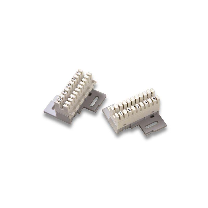 Alcad RE-510 Regleta de 5 pares con soporte
