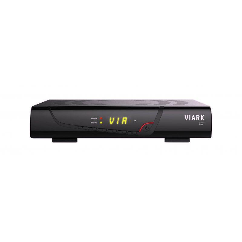 VIARK SAT Receptor satélite Full HD DVB-S2 H.265 HEVC