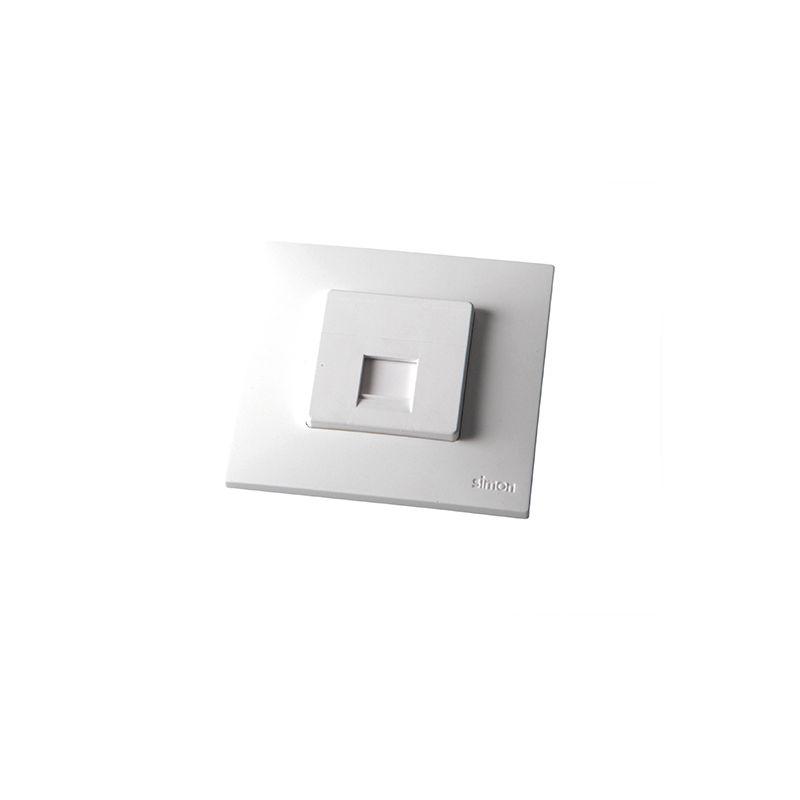 Alcad TOU-101 Base de toma, 1 conector rj45 cat6