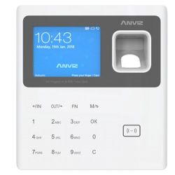 Anviz W1-PRO-BAT-WIFI - ANVIZ Time & Attendance Terminal, Fingerprints,…