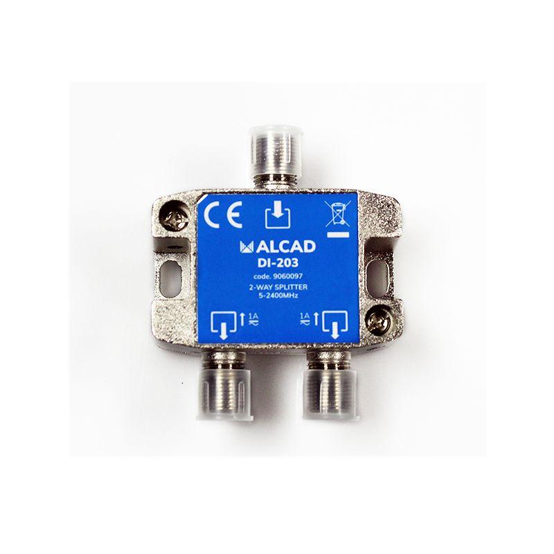 Alcad DI-203 Distribuidor FI 2 salidas con PC