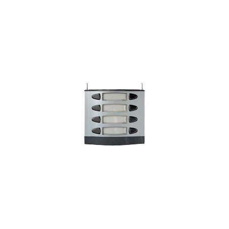 Alcad MPD-004 4 double push-button panel