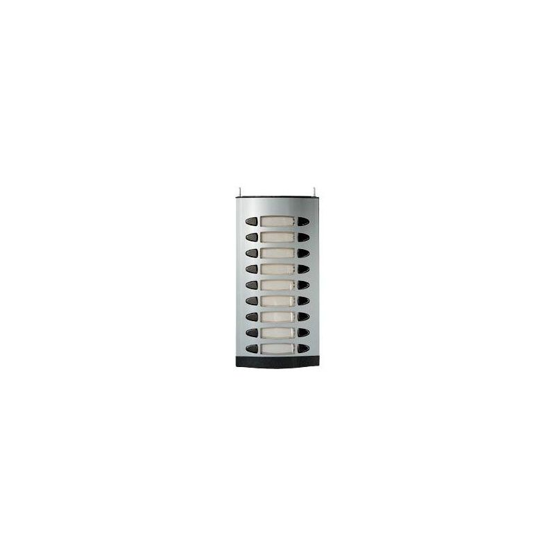 Alcad MPD-009 9 double push-button panel