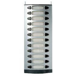 Alcad MPD-012 Plaque 12 doubles boutons-poussoirs