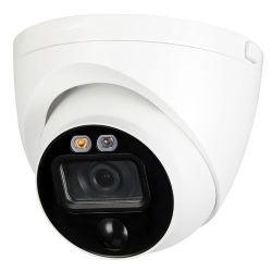 X-Security XS-T980PIRL-5PHAC - Cámara turret HDCVI, Gama PRO Active Deterrence,…