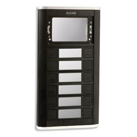 Alcad PPD-52106 Iblack panel 6 doub.push. & window mod.