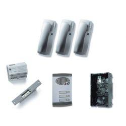 Alcad KAS-41003 Kit 3 pulsadores simples 4+n