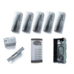 Alcad KAS-41005 Kit 5 pulsadores simples 4+n