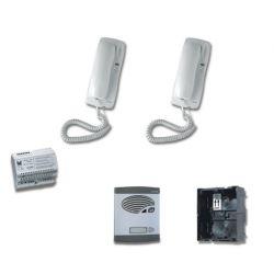 Alcad KAS-42021 Kit 1 puls.simple intercom.4+n sin abr