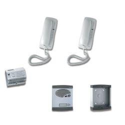 Alcad KBS-42121 Kit 1 puls.simp.intercom.4+n s/abr.c.sup