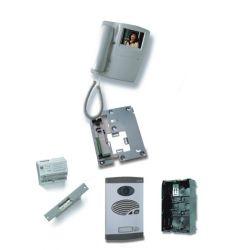Alcad KVS-47201 Kit vid 1 bou sim 4 fil bus couleur coax