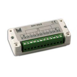 Alcad DIV-064 Derivateur. basse. 4 sort et pass. 2fils