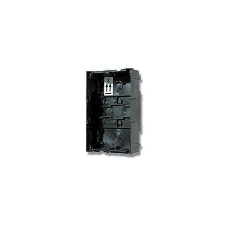 Alcad CMO-004 Caja empotr. 3/4 plantas montada