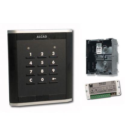 Alcad PNK-50000 Placa teclado control de accesos iblack