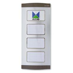 Alcad PTN-00000 Placa de calle con directorio